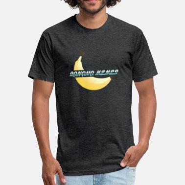 Meme Art Banana Memes - Fitted Cotton/Poly T-Shirt by Next Level