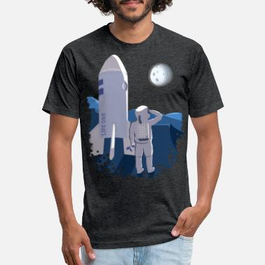 Space Travel My space travel - Unisex Poly Cotton T-Shirt