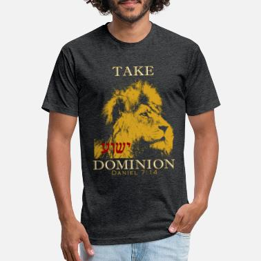 Dominion Take Dominion(Men's T) - Unisex Poly Cotton T-Shirt