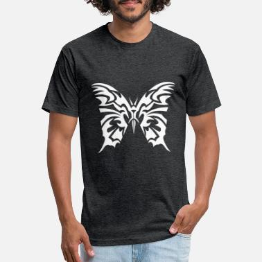 Tribal tribal butterfly 11023 - Unisex Poly Cotton T-Shirt