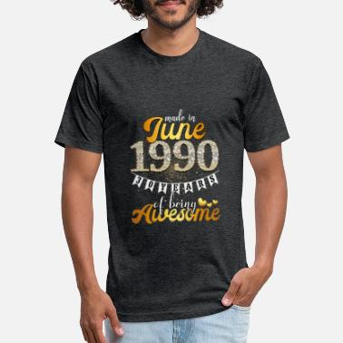 6TN Mujer Made In 1990 30 Years of Being Awesome T Shirt