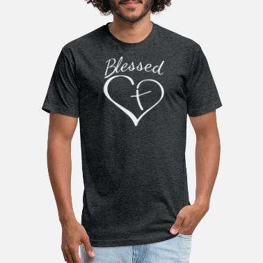 Blessed Home Blessed - Unisex Poly Cotton T-Shirt