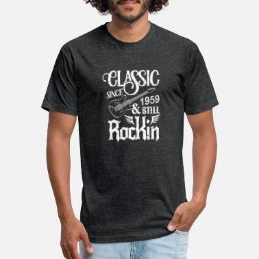 Rocking Classic Since 1959 And Still Rockin - Unisex Poly Cotton T-Shirt