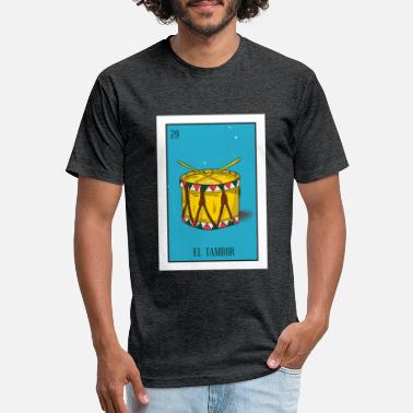 Tambores El Tambor Card Gift The Drum Card Mexican Lottery - Unisex Poly Cotton T-Shirt
