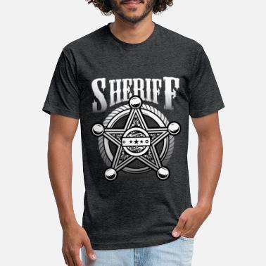 Sheriffs Office Sheriff star sheriff officer police - Unisex Poly Cotton T-Shirt