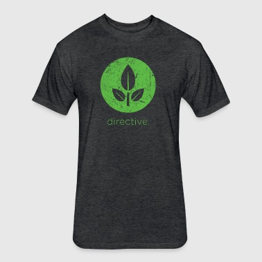 Directive - Fitted Cotton/Poly T-Shirt by Next Level