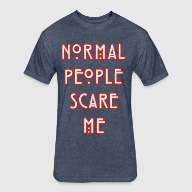 NORMAL PEOPLE - Fitted Cotton/Poly T-Shirt by Next Level
