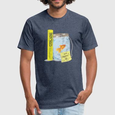Good Morning Gill! - Fitted Cotton/Poly T-Shirt by Next Level