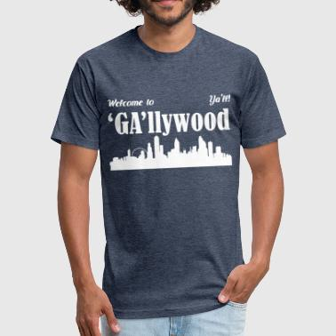 GAllywood - Fitted Cotton/Poly T-Shirt by Next Level