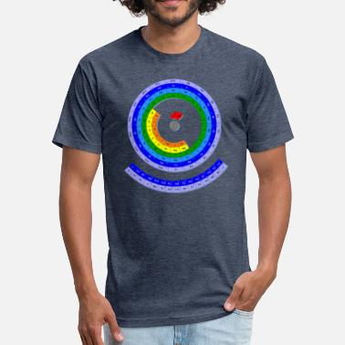 Periodic Elements The Periodic Table of the Chemical Elements - Fitted Cotton/Poly T-Shirt by Next Level