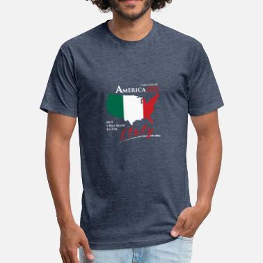 Italy Italy - Fitted Cotton/Poly T-Shirt by Next Level