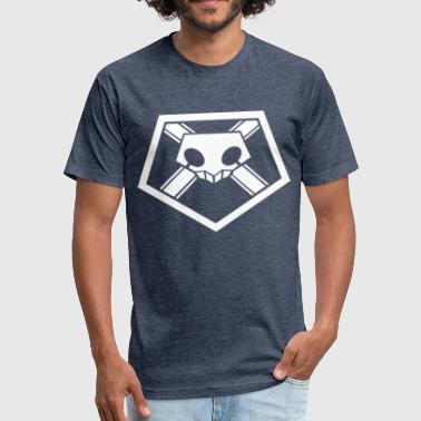 Shinigami Symbol shinigami badge - Fitted Cotton/Poly T-Shirt by Next Level