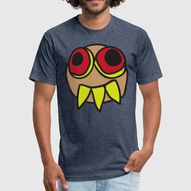 Freaky Monster - Fitted Cotton/Poly T-Shirt by Next Level