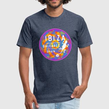 Balearic Islands Ibiza Baleares - Fitted Cotton/Poly T-Shirt by Next Level