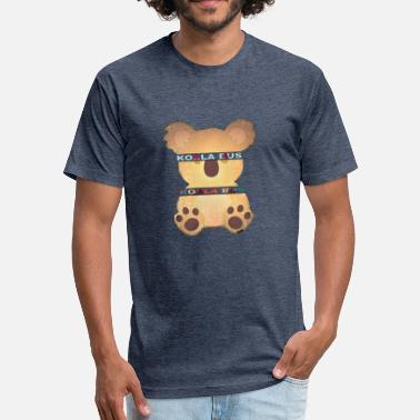 Clothing Brands Koala Bus Brand Clothing - Fitted Cotton/Poly T-Shirt by Next Level