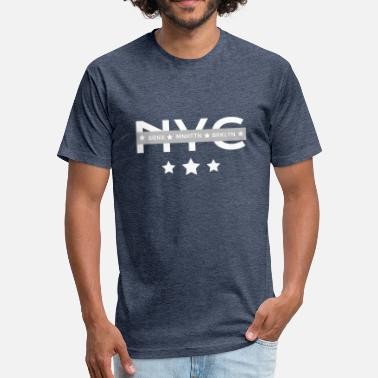 Borough NYC Boroughs - Fitted Cotton/Poly T-Shirt by Next Level