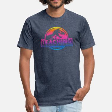 Park Teaching Is A Walk In The Park - Fitted Cotton/Poly T-Shirt by Next Level