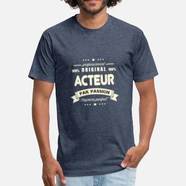 Voice Actor Original Actor - Fitted Cotton/Poly T-Shirt by Next Level