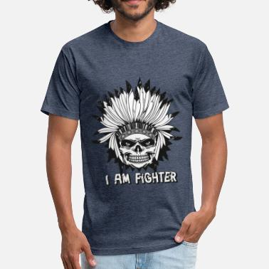 I Am A Fighter I am a Fighter - octerson - Fitted Cotton/Poly T-Shirt by Next Level