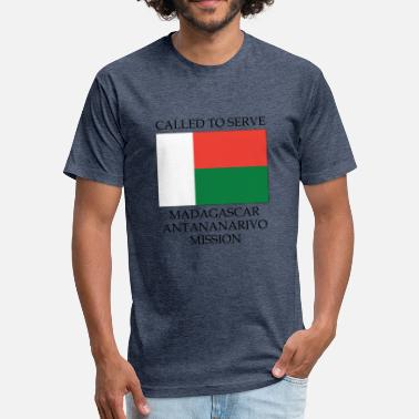 Antananarivo Madagascar Antananarivo LDS Mission Called to - Fitted Cotton/Poly T-Shirt by Next Level