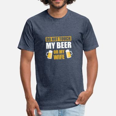 Beer Ideas Shirt Ideas For Beer Lover. - Fitted Cotton/Poly T-Shirt by Next Level