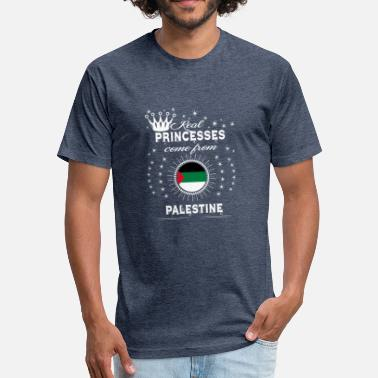Palestina queen love princesses PALESTINE PALESTINA - Fitted Cotton/Poly T-Shirt by Next Level