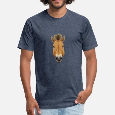Horse Rider Horse Rider - Fitted Cotton/Poly T-Shirt by Next Level