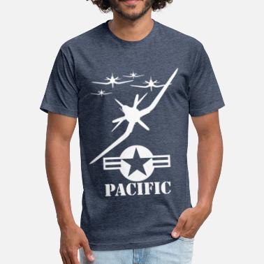 Pacific Sports pacific wite - Fitted Cotton/Poly T-Shirt by Next Level