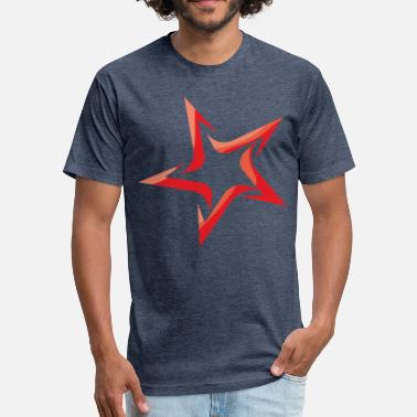 Red Star red star - Fitted Cotton/Poly T-Shirt by Next Level