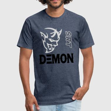 Mopars Demon demon - Fitted Cotton/Poly T-Shirt by Next Level