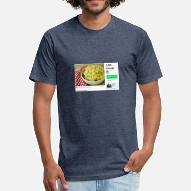 Salad Potatao Salad - Fitted Cotton/Poly T-Shirt by Next Level