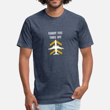 Jet Ski Kids Airplane Aviation Pilot Airport Gift Kids Gift Men - Fitted Cotton/Poly T-Shirt by Next Level
