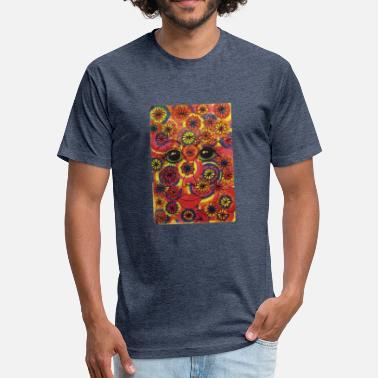 Instagram Art LuckyPen Art - Fitted Cotton/Poly T-Shirt by Next Level