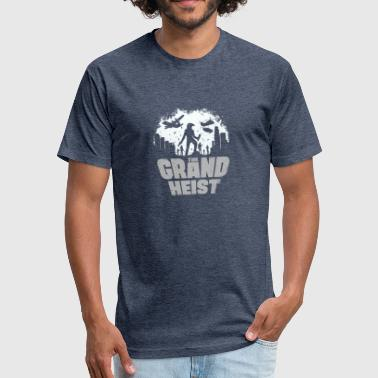 The Grand heist - Fitted Cotton/Poly T-Shirt by Next Level