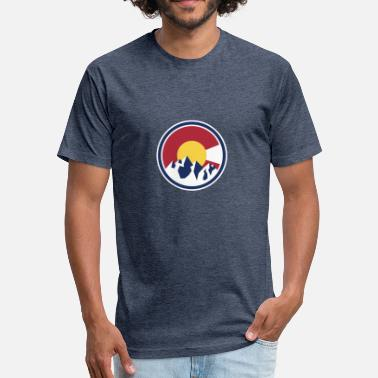 Colorado Rockies - Fitted Cotton/Poly T-Shirt by Next Level
