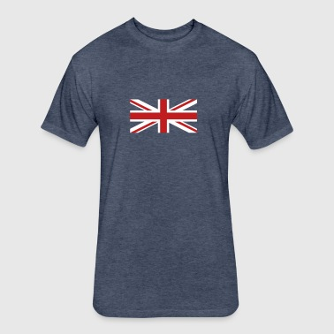 Union Jack velvety - Fitted Cotton/Poly T-Shirt by Next Level