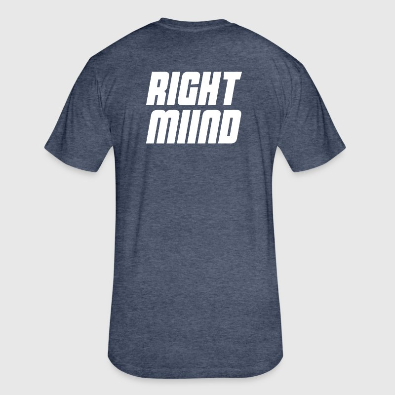Men's Fitted T-Shirt - Don't Overthink - Fitted Cotton/Poly T-Shirt by Next Level