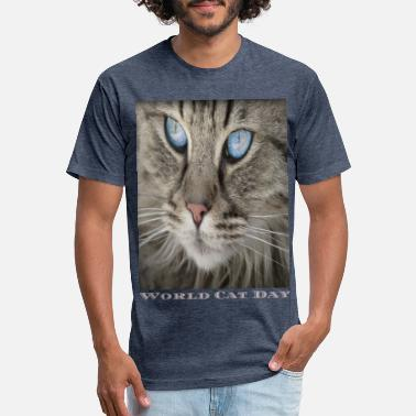 World Cat Day new t-shirt world cat day - Unisex Poly Cotton T-Shirt