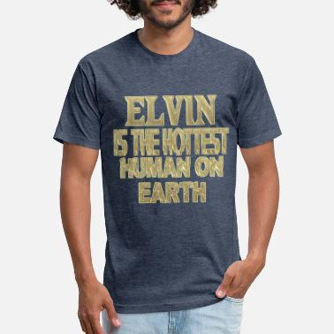 Elvin Elvin - Unisex Poly Cotton T-Shirt