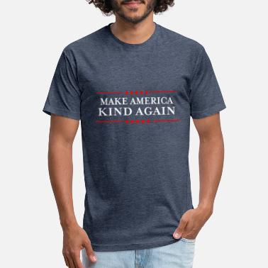 Again Make America Kind Again product - Liberal - Unisex Poly Cotton T-Shirt