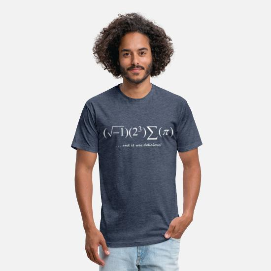 Science T-Shirts - i8sumpi - Unisex Poly Cotton T-Shirt heather navy