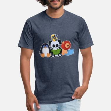 Cute Animals Cute Animals - Unisex Poly Cotton T-Shirt
