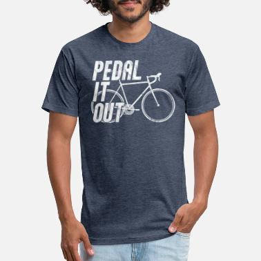 Ironman Race racing bike race bike cycling bicycle Pedal it out - Unisex Poly Cotton T-Shirt