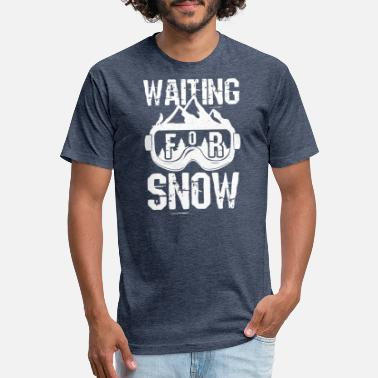 3775e66a Slogans Snowboarding Snowboarding Snowboard Vacation Snow - Unisex Poly  Cotton T-Shirt