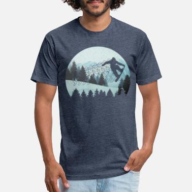Snowboard Snowboarding Snowboard Vacation - Unisex Poly Cotton T-Shirt