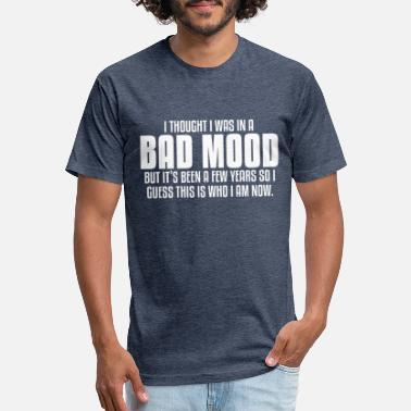 Bad Manners BAD MOOD - Unisex Poly Cotton T-Shirt