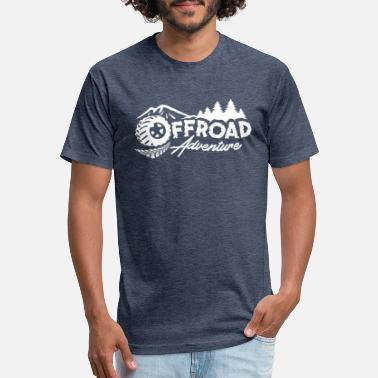 Offroad Vehicles OFFROAD ADVENTURE WHITE - Unisex Poly Cotton T-Shirt