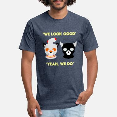 Look Good We Look Good - Unisex Poly Cotton T-Shirt