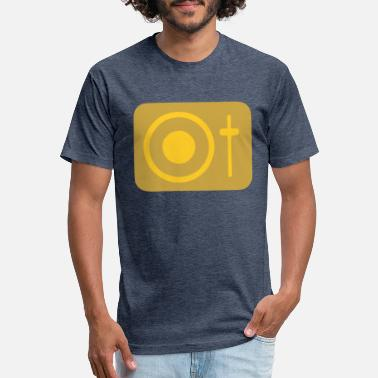 Label Auto Record Gold - Unisex Poly Cotton T-Shirt