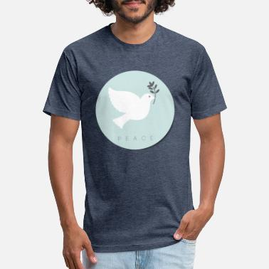PEACE - Unisex Poly Cotton T-Shirt